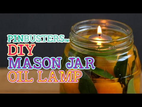 Let's Make Mason Jar Oil Lamps // DO THEY WORK?