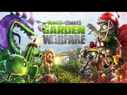 Playing Plants vs Zombies Garden Warfare (PS3) (KID GAMING)