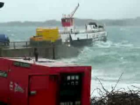 Iona ferry in a gale