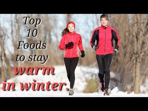 How to stay warm in winter with food | Top 10 foods that will keep you warm in winter.