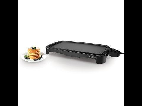 Review:  BLACK+DECKER GD2011B Family Sized Electric Griddle, 20 x 11-Inch, Black