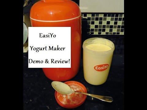 EasiYo Yogurt Maker Demo and Review