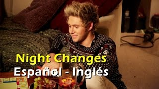 One Direction - Night Changes (Official Video) [Letra Español - English]
