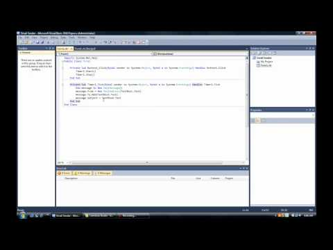 Visual Basic Tutorial #3 || Email Sender || Easy