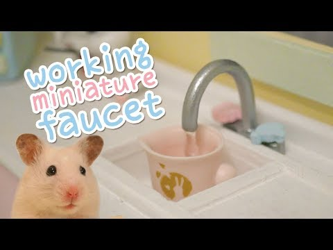 DIY miniature sink | Building the Hamster Kitchen | Part 2