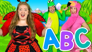 Alphabet Animals 2 - More ABC Animals! | Learn animals, phonics and the alphabet