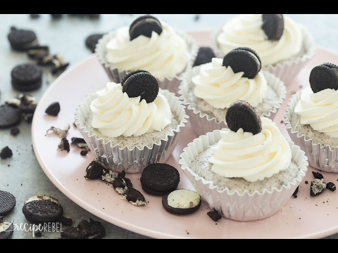 Oreo Ice Cream Cupcakes Recipe