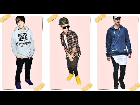 Justin Bieber Before and After Shoes Style (2009 - 2016)