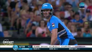 Highlights: Strikers v Hurricanes - BBL06