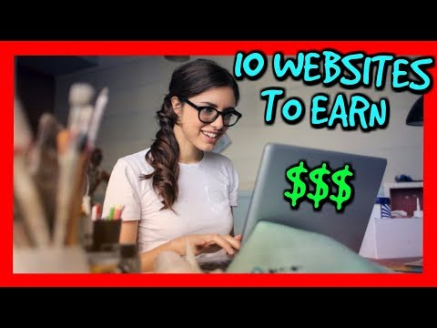 10 Websites to Earn Money Online (Earn Extra Money From Home)