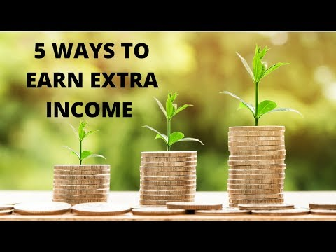 5 Ways to Earn Supplemental Income