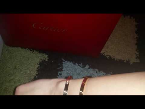 cartier love bracelets wear & problems & recommendation