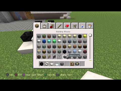 how to build a racing car in minecraft PS4 ed