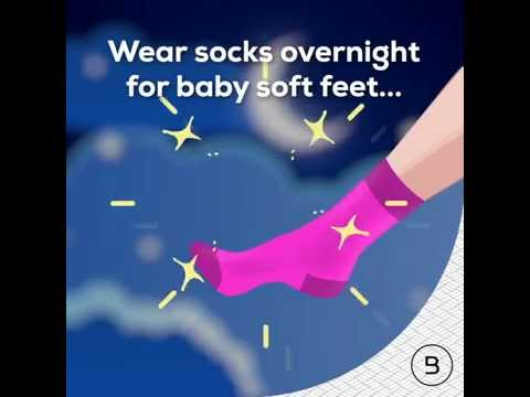 #StyleSunday Get Baby Soft Feet Overnight!