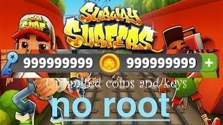 How To Get Unlimited Coin Keys In Subway Surfer Game No Root