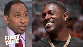 The Eagles should sign Antonio Brown - Stephen A. | First Take