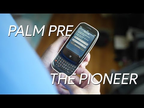 Phones that were ahead of their time: Palm Pre