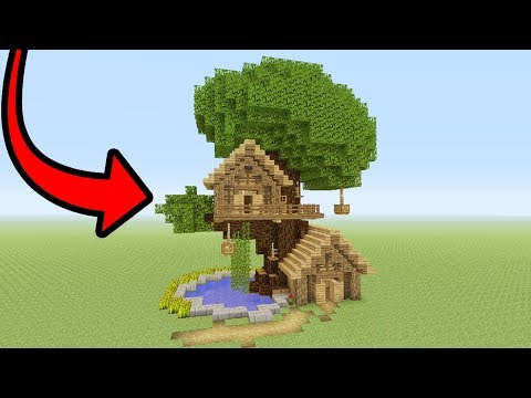 Minecraft Tutorial: How To Make A Tree Base