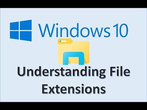 Computer Fundamentals - Understanding File Extensions