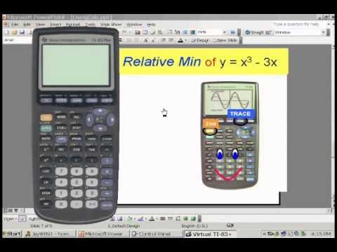 Using CALC on a TI Calculator