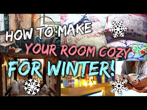 How To Make Your Room Cozy for Winter & Christmas!