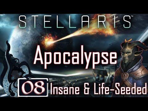 Yuck, Xenophiles! - Stellaris: Apocalypse Pre-Release Series - Drakonian Imperium - #08 - Insane