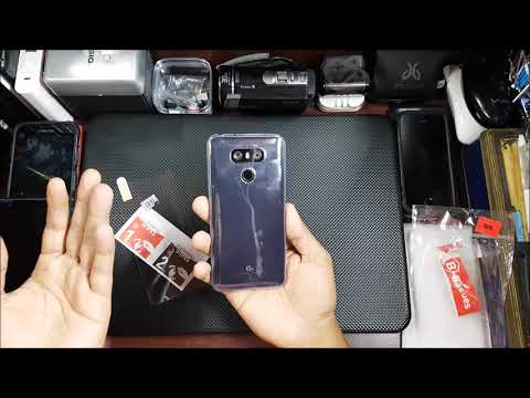 Lg G6 Back cover and Tempered Glass Installation