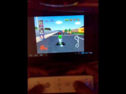 Nintendo 64 + wiimote + Android ICS 4.0.4