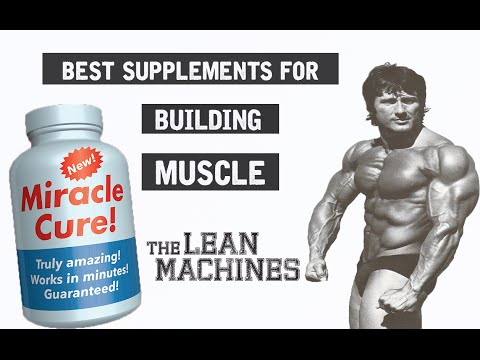 Best Supplements To Build Muscle