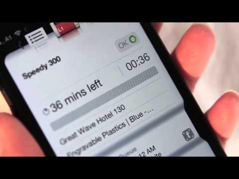 Trotec Laser Remote iPhone App