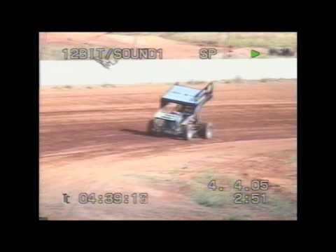 Allan Tanner first Sprintcar drive.