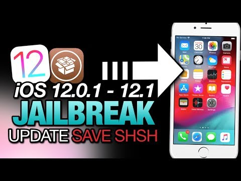 iOS 12.0.1 - 12.1 JAILBREAK UPDATE! Save Your SHSH BLOBS NOW! For iPhone & iPad