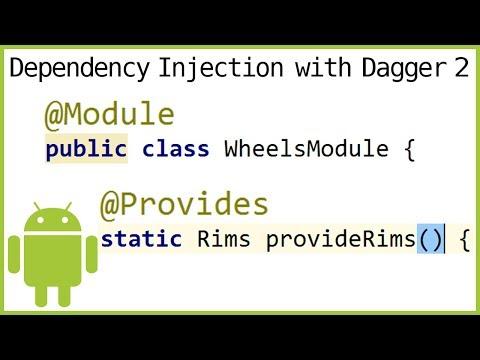 Dagger 2 Tutorial Part 5 - MODULES & PROVIDER METHODS - Android Studio Tutorial