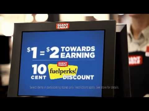 Fuelperks! Special Offer $1 Equals $2 Towards Savings | Giant Eagle