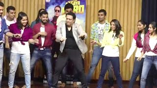 Govinda Dances With College Students During Aagaya Hero Movie Promotions