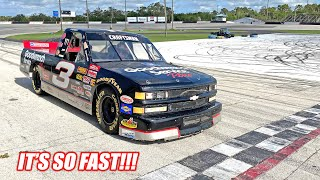 The Dale Truck's FIRST TEST RIPS at the Freedom Factory!!! (900hp Nitrous NASCAR)