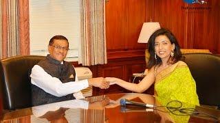 Consulate General Of India Ny Dnyaneshar Mulay Sharing His Vision Of