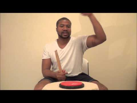 Beginner Drum Lesson - Single,Double,Triple, and Quadruple Stroke Roll Rudiment