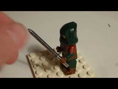 How To Make A Sharp Steel Sword For Your Lego MiniFigures
