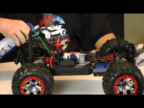 Winter RC Car & Truck Care-Snow & Water  Removal & Post Run