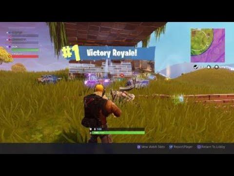 Fortnite best live stream win ever