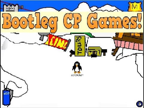 LOL! BOOTLEG CLUB PENGUIN GAMES // Scratch