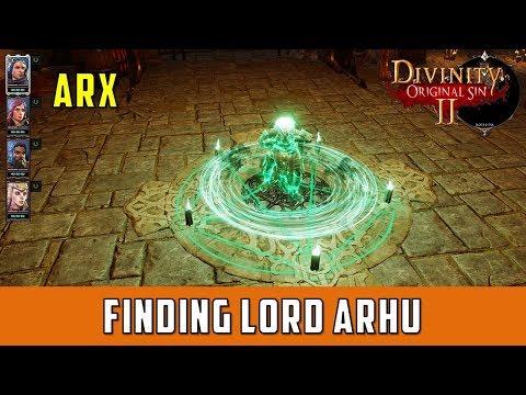 Finding Lord Arhu Quest (Divinity Original Sin 2)