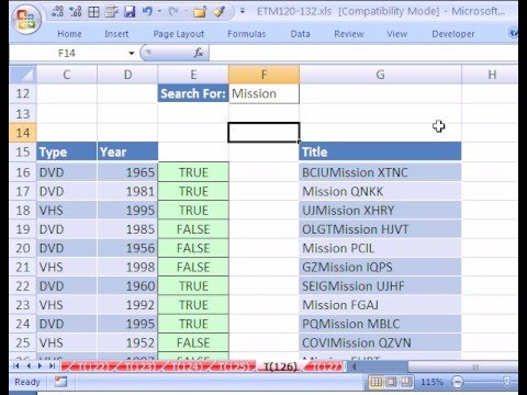 Excel Magic Trick #126: Macro: Advanced Filter Extract Text