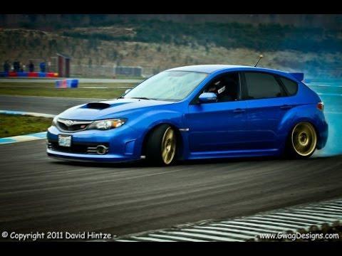 Subaru WRX STI cool drift