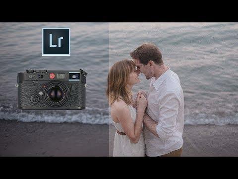 How To Get Film Look in Light Room (35mm film style Lightroom tutorial)