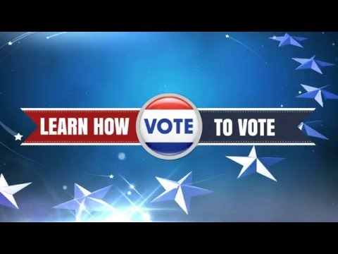 Learn How to Vote