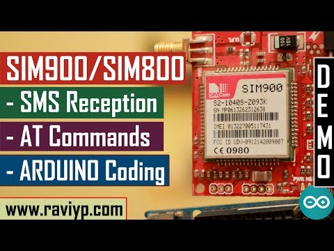 Using Arduino with SIM900/SIM800 for receiving SMS commands