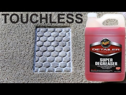 How to Clean Rubber Floor Mats : Meguiars Super Degreaser