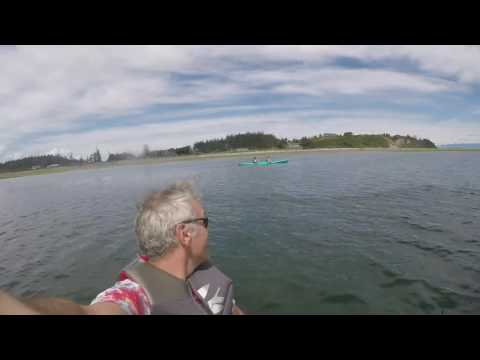Kris and Kalyln kayak pt holmes June 2016